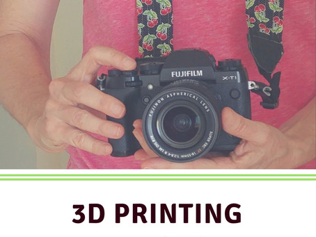 3D Printing - Cool stuff for Photography!