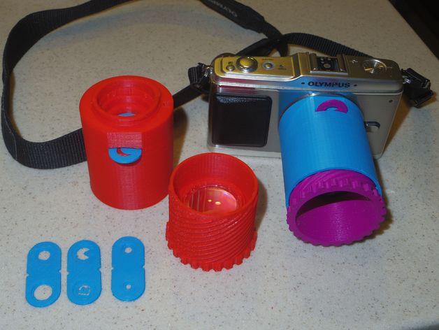DIY Micro 4/3 Lens v1.1 single lens design
