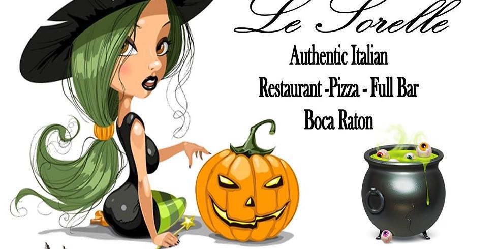 Halloween-Le Sorelle Restaurant-Boca Raton