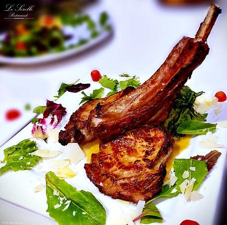 veal-chop-Le-Sorelle-restaurant-the-best