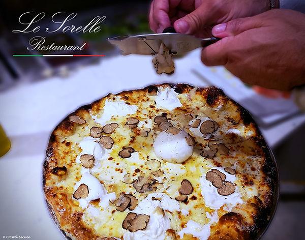 truffle burrata pizza Delray Beach