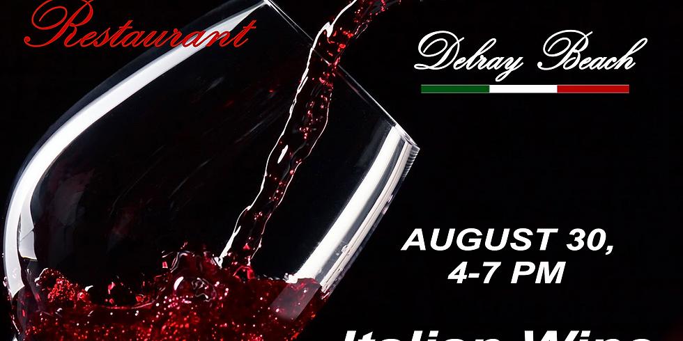 Italian Wine Tasting - Le Sorelle Delray Beach