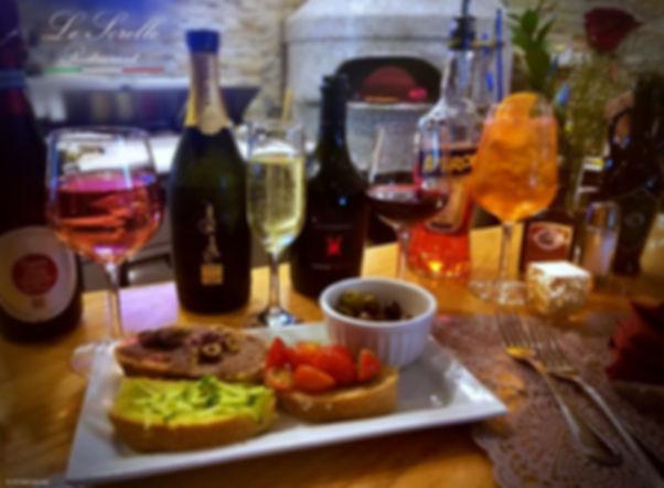 Italian appetizer Le Sorelle restaurant boca raton
