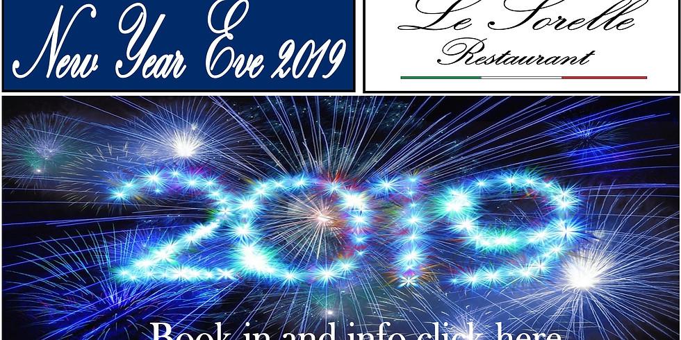 New Year`s Eve - Le Sorelle Boca Raton