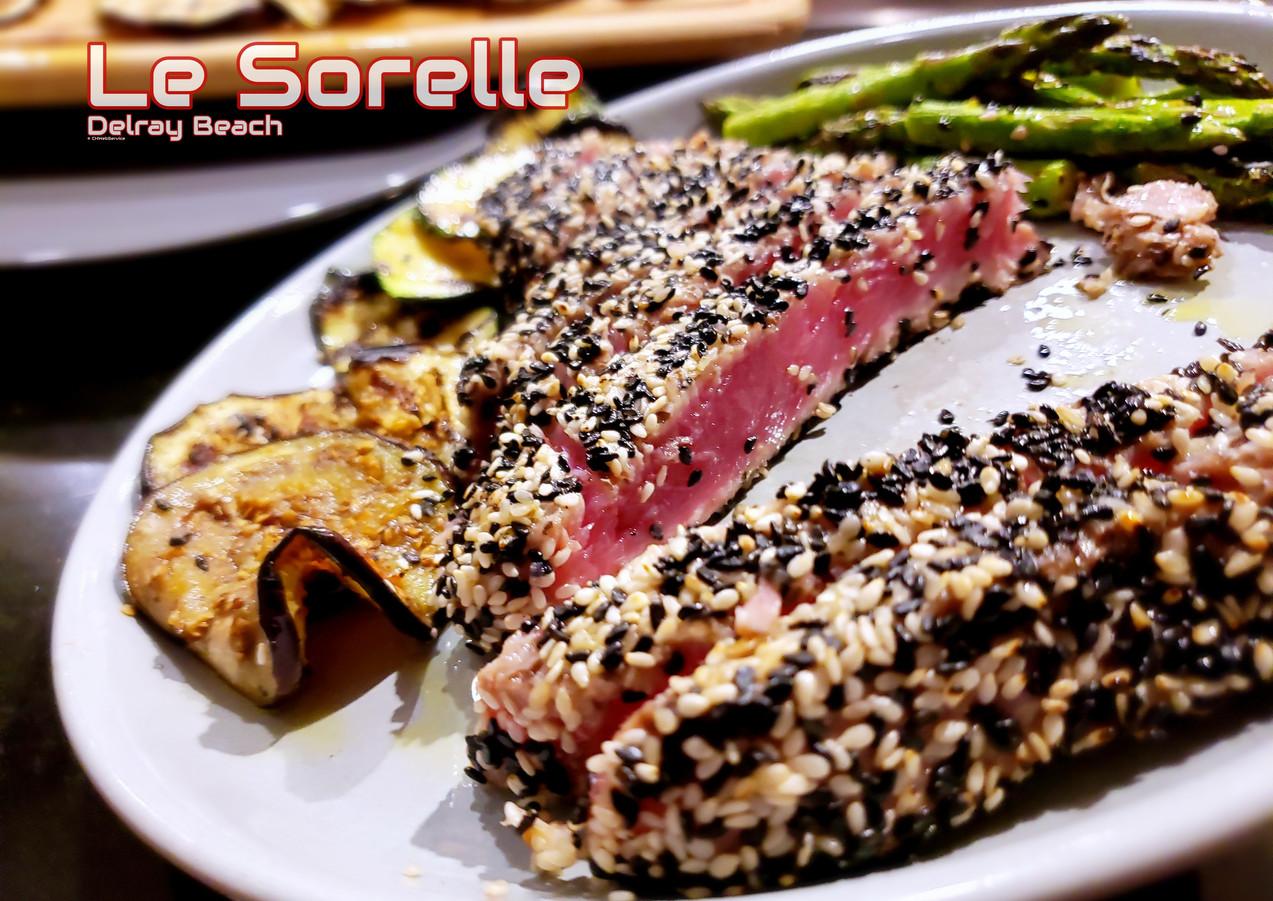 tuna-sesame-le-sorelle-restaurant-delray