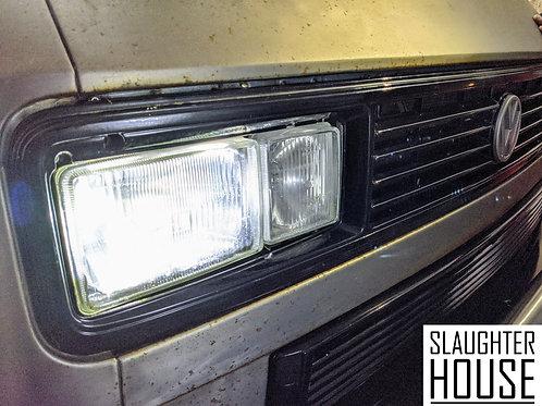 VW T25 T3 Vanagon Headlight Bulb UPGRADE KIT (White)