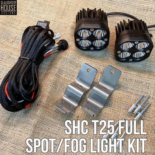 SHC T25 Front Spot/Fog Light Full Kit
