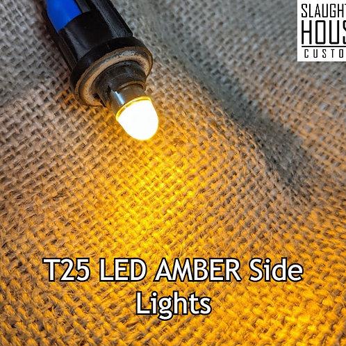 VW T25 T3 Vanagon LED Front Sidelight UPGRADE KIT (AMBER)
