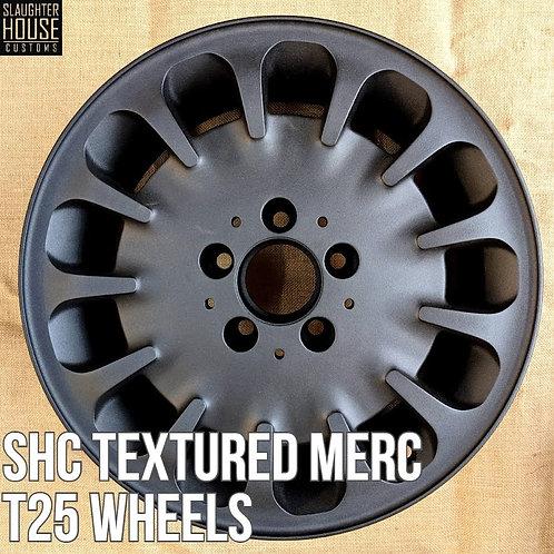 "SHC T25 T3 Vanagon 16"" Textured Merc Wheels"