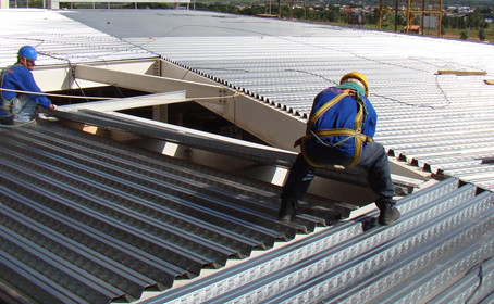 Laje steel deck: vantagens no canteiro de obra