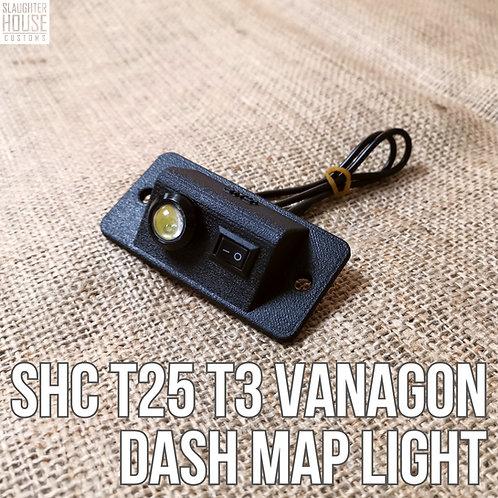 SHC T25 T3 Vanagon Dash LED Map Light