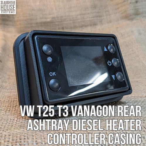 VW T25 T3 Vanagon Rear Ashtray DIESEL HEATER Controller Casing