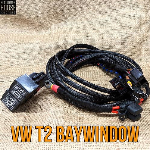 SHC VW T2 Bay Window Headlight Relay, Wiring Loom, Upgrade