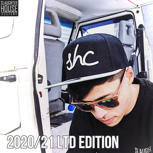 Slaughter House Customs, 2020/21 SHC Snapback Cap, Custom Motorcycle Cap