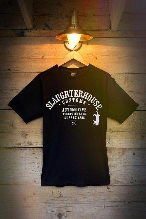 Slaughter House Customs, SHC, Classic T-Shirt, Black