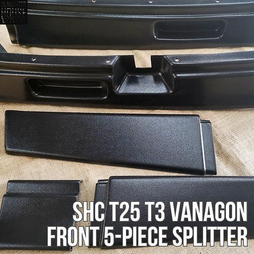 SHC T25 T3 Vanagon Front 5-Piece Splitter