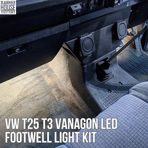 VW T25 T3 Vanagon LED Footwell Light Kit