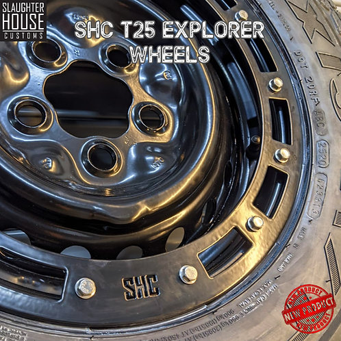 "SHC T25 T3 Vanagon 14"" Swamper Wheels"