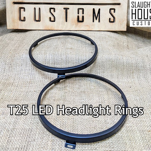 SHC VW T25 T3 Vanagon LED Headlamp Retaining Rings (Pair)
