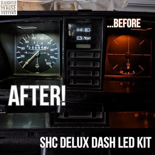 VW T25/T3 Transporter LED Dash Light Bulb for Speedo Clocks *BRIGHT WHITE* Kit