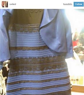 Wit-goud of blauw-zwart?