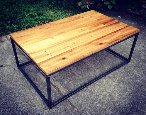 Ft Industrial Coffee Table - 4ft coffee table