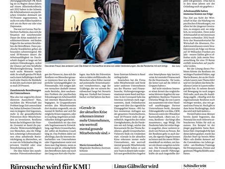 Bericht in der Luzerner Zeitung
