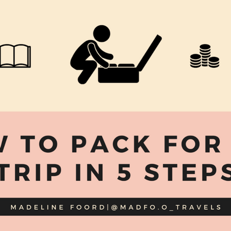 How to Pack for Any Trip in 5 Steps