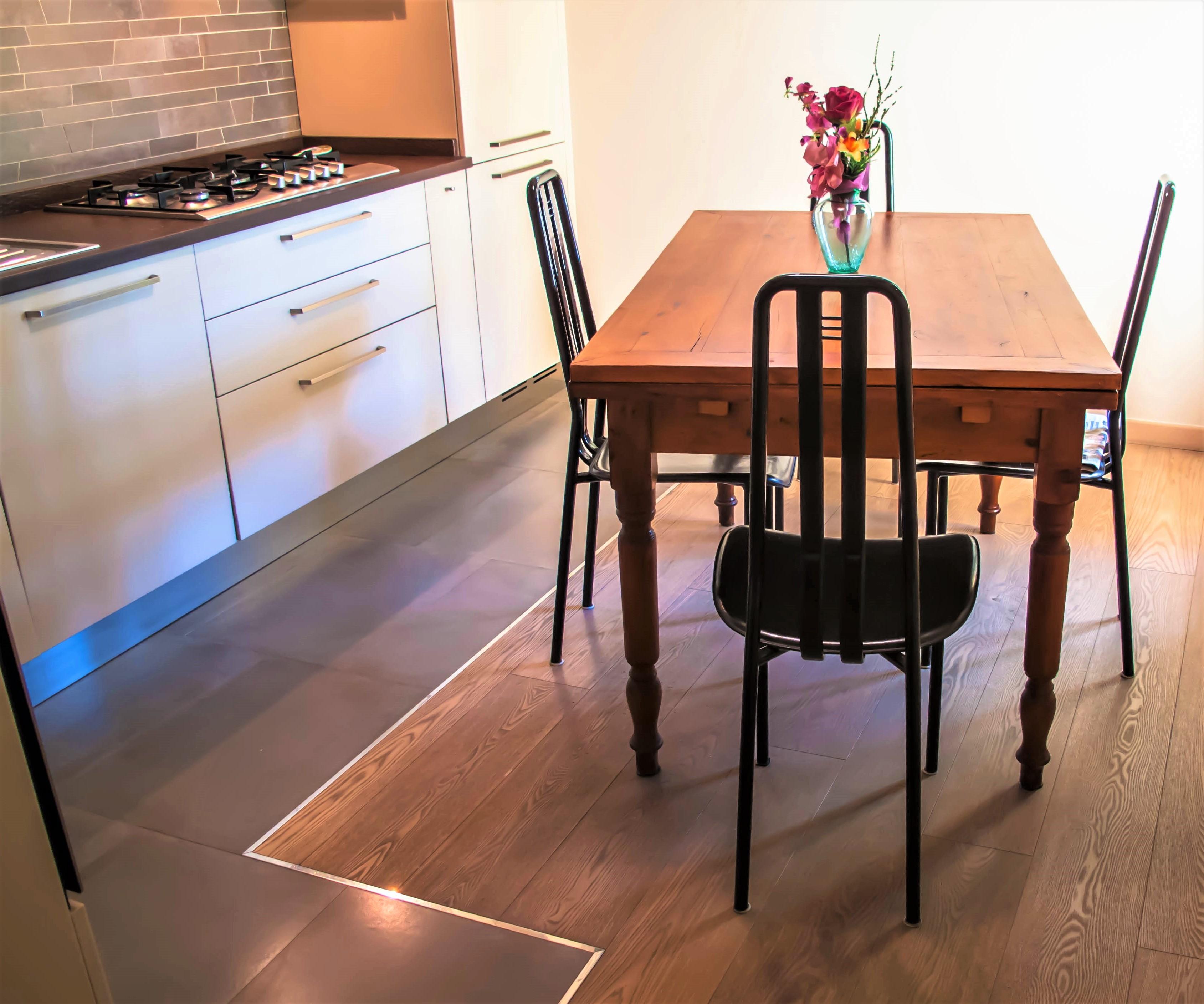 Pavimento cucina - AplusP