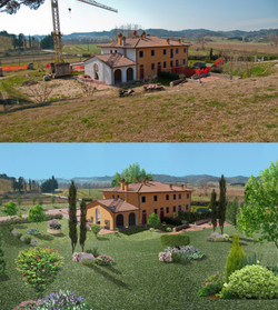 Fotoritocco giardino - AplusP