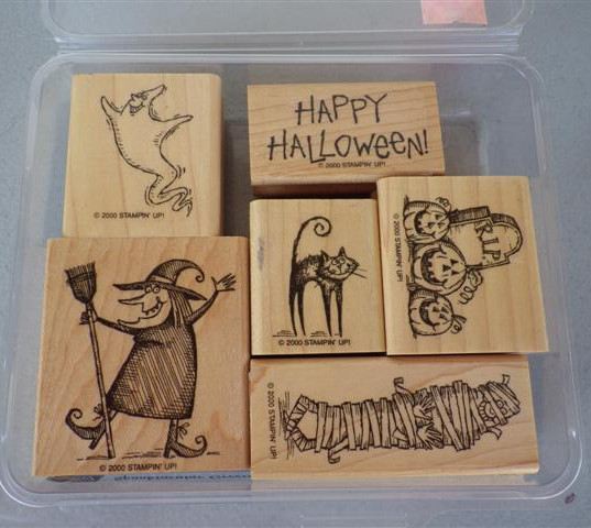 Stampin Up Rubber stamps (1) (Small) 12.