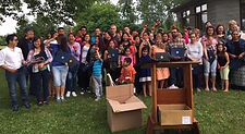 World Life Institute and the Orleans-Niagara BOCES congratulated 55 students for improving their English