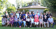 This photo shows supporters of Project Life gathered Sunday for a 20th anniversary party for the program.