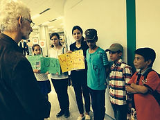 Project Life,Chris Wilson and volunteers, welcome 3 orphans from war-torn regions of Afghanistan, arriving in Buffalo