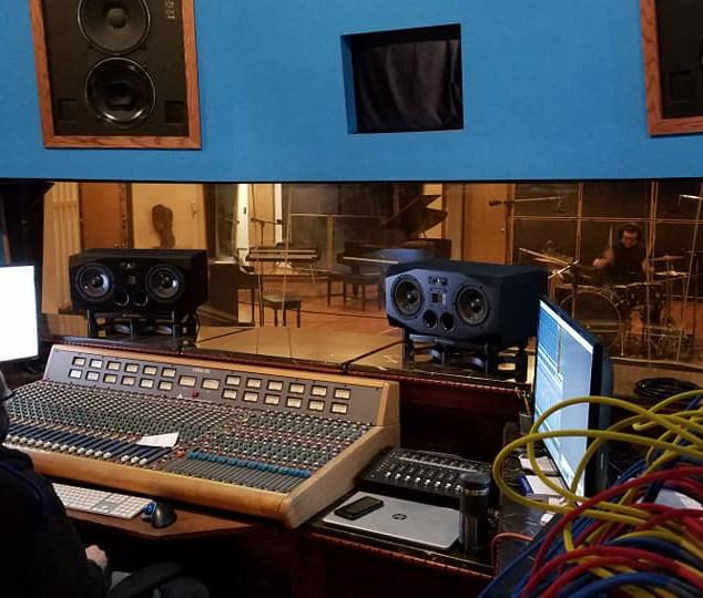 Recording at Mr. Smalls