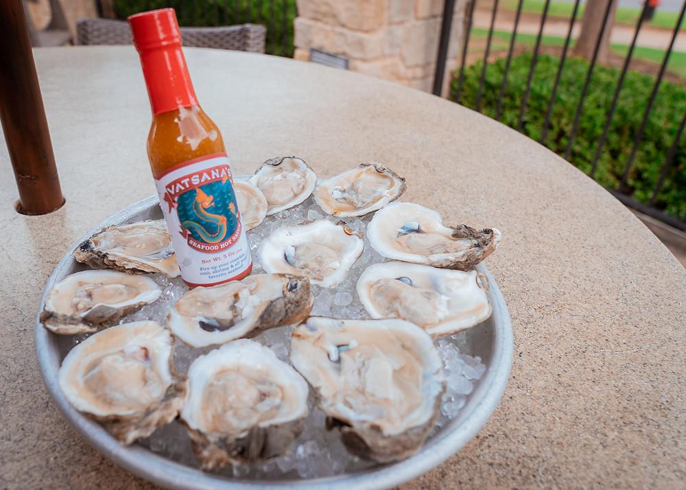 best raw oysters seafood lemon cocktail vatsana seafood hot sauce horseradish hack