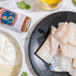Baked Flounder with Panko and Parmesan Recipe