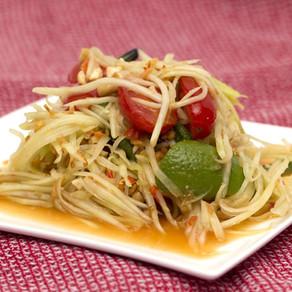 Laotian Papaya Salad Recipe