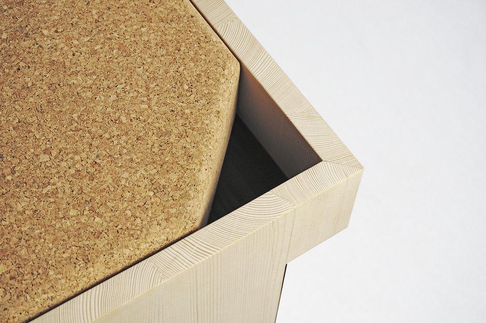 Balthazar Stool_Storage box | Studio Nicolas Abdelkader - Design | Nature | Architecture
