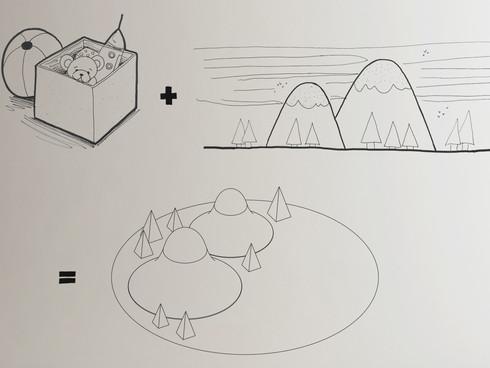 Mountain Children's play mat_Image 01