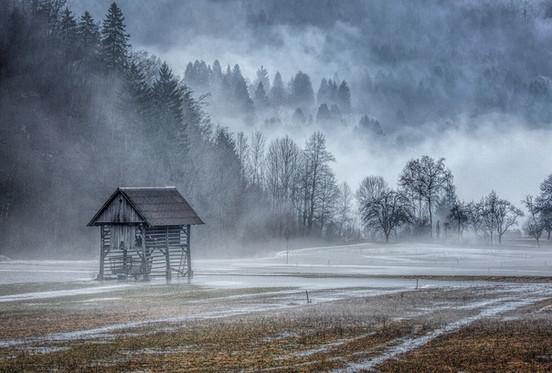 Slovenian Hay Barn