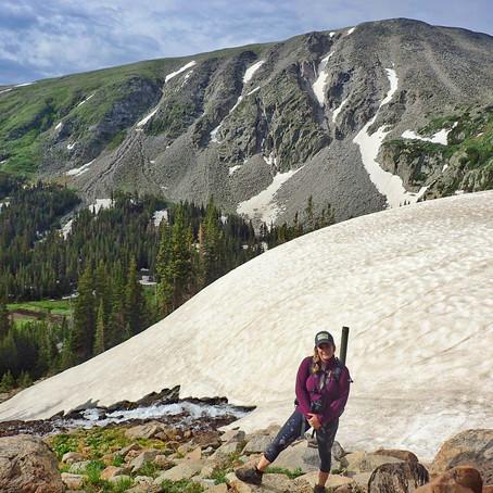Alpine Ice-Off: Raining Dust