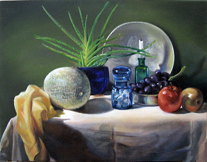 Still Life with Canteloupe.jpg