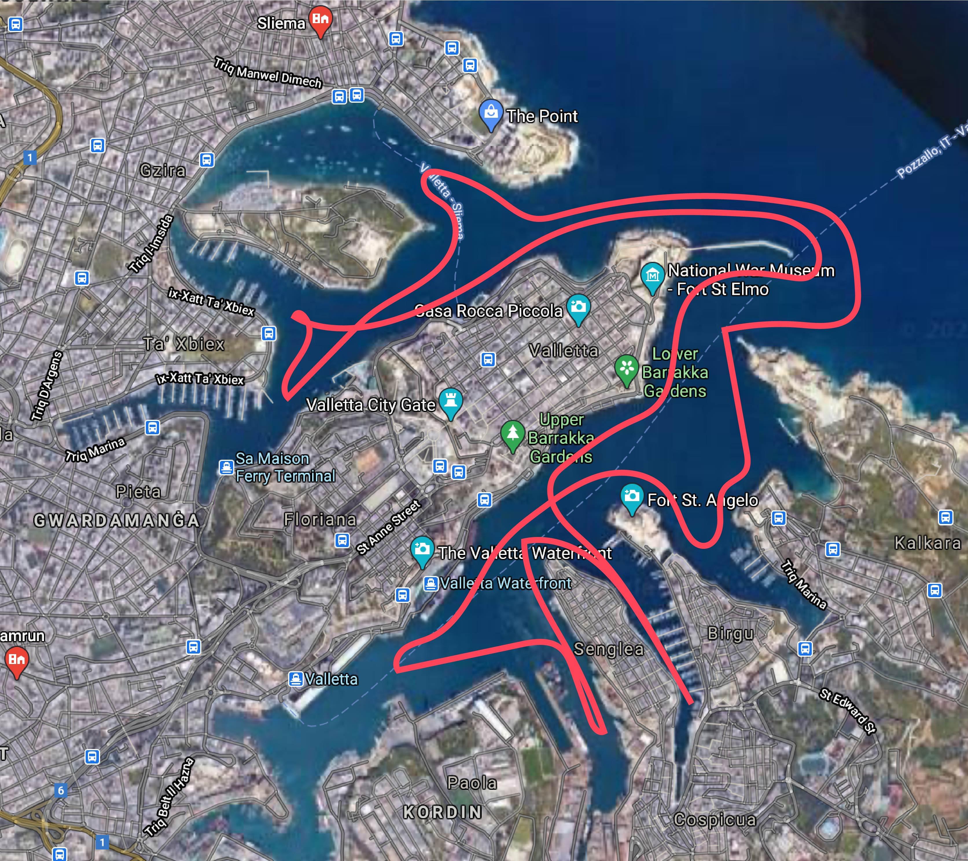 Harbour Cruise - Three Cities
