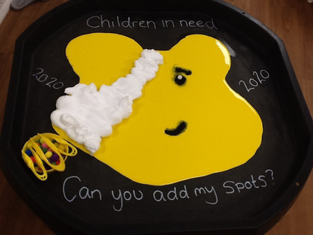 Children in Need week at Scribbles