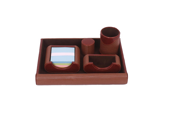 PF-9753(TABLE STATIONERY TRAY SET)SIZE:(13.5*10.5)INCH
