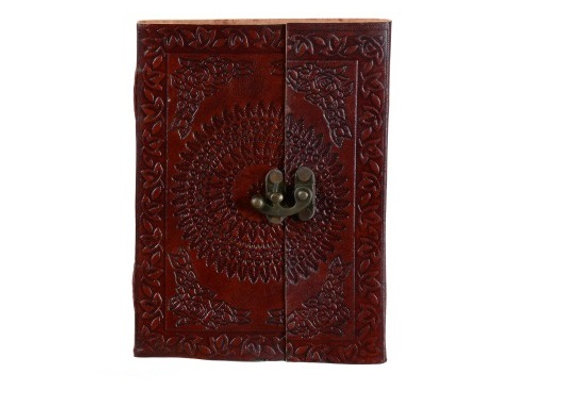 PF-9796(A5 LEATHER CRAFT NOTEBOOK)SIZE:(7*5)INCH