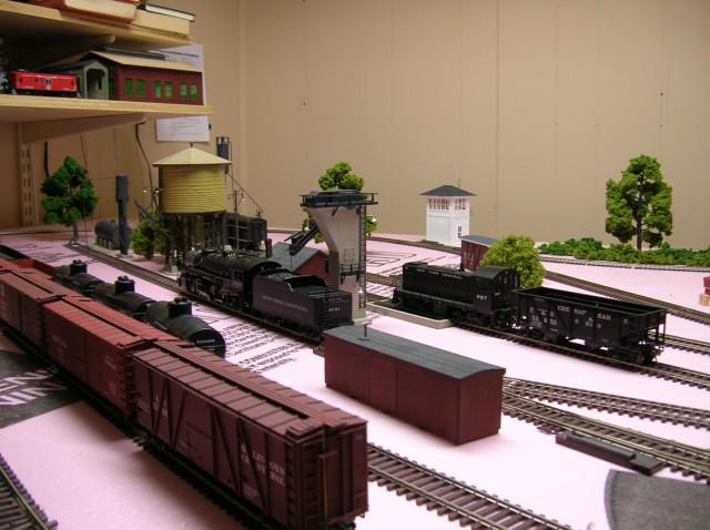 Steam-Diesel Servicing facilty