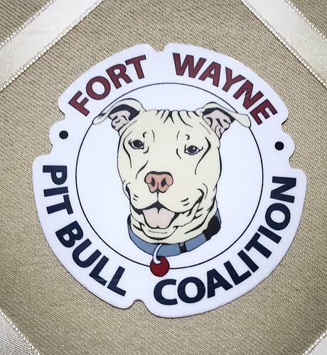 FWPBC Logo Outdoor/Indoor Sticker