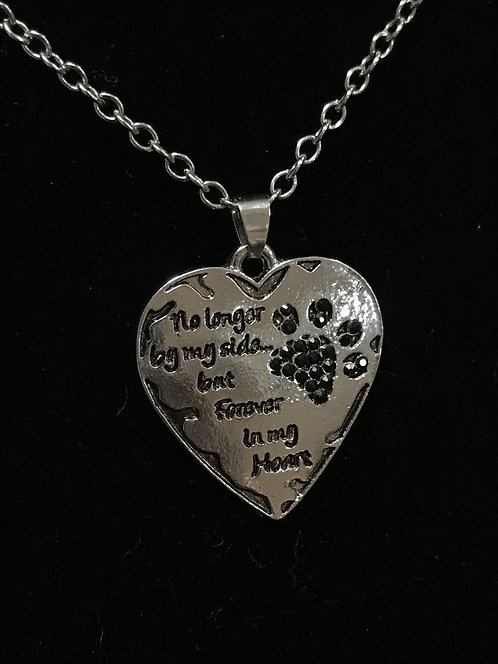 No Longer By My Side... Necklace